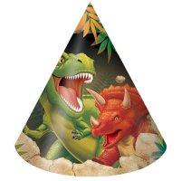 Contient : 1 x 8 Chapeaux Dino Relief