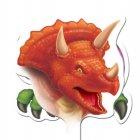 12 Pics d�coratifs pour cupcakes Dino Relief