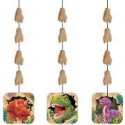 3 d�corations � suspendre Dino Relief