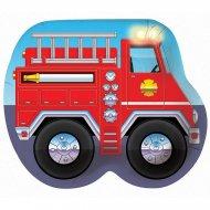 8 Assiettes Pompier