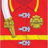16 Serviettes Pompier