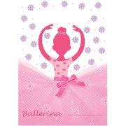 8 Pochettes cadeaux Danseuse Ballerine