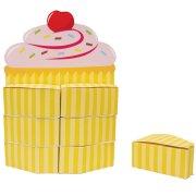 Centre de table en bo�tes cadeaux Cupcake Friandise