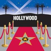 16 Serviettes Hollywood Stars