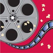 16 Serviettes Bobine Cinéma