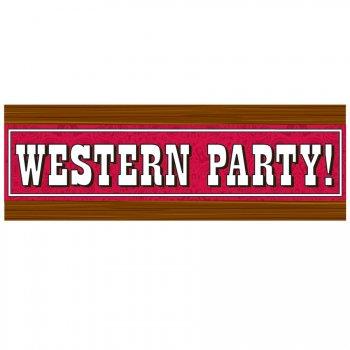 Affiche de salle Western
