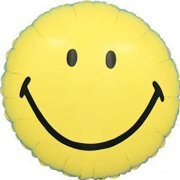 Ballon Mylar Smiley Face