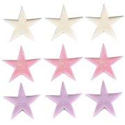 9 �toiles de Star en sucre
