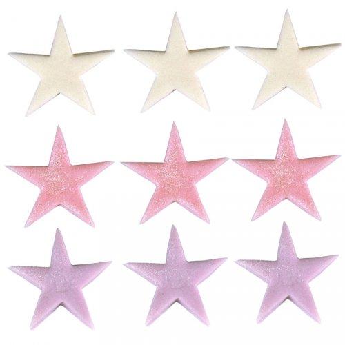 9 étoiles de Star en sucre
