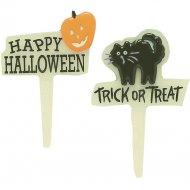 6 Pics décoratifs phosphorescent Halloween