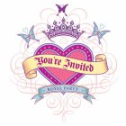8 Invitations Princess Tatoo