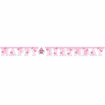 Guirlande lettres Happy Birthday Princess Tatoo