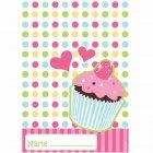 8 Pochettes � cadeaux  Cupcake Friandise
