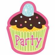 8 Invitations Cupcake Friandise