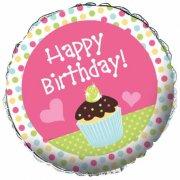 Ballon Mylar Cupcake Friandise