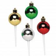 6 Pics Boules de Noël