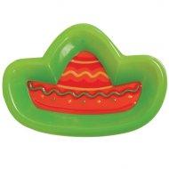 Plat en plastique Sombrero