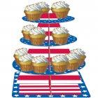 Présentoir à Cupcakes American Party