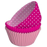75 Caissettes � Cupcakes Girly Rose