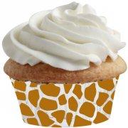 100 Mini Caissettes à Cupcakes Girafe