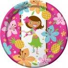 8 Assiettes Princesse Aloha