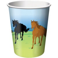 Contient : 1 x 8 Gobelets Cheval Nature