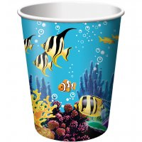 Contient : 1 x 8 Gobelets Ocean Party