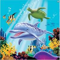Contient : 1 x 16 Serviettes Ocean Party