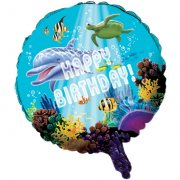 Ballon Mylar Ocean Party