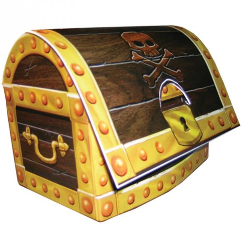 Centre de table coffre pirate