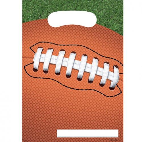 8 Pochettes à cadeaux Football américain