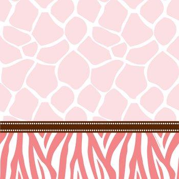 Nappe Baby Safari Pink