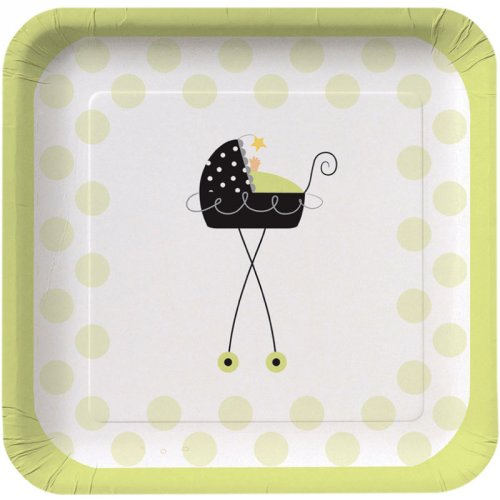 8 Assiettes Baby Fun