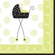 16 Petites Serviettes Baby Fun