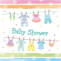 Contient : 1 x 16 Serviettes Baby Shower