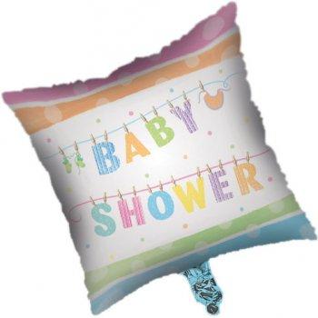 Ballon Mylar Baby Shower pastels