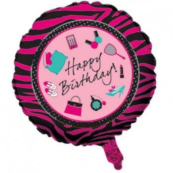 Ballon Mylar Pyjama Party