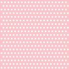 20 Serviettes à pois Blanc/Rose