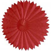Petite décoration Eventail Papier Rouge