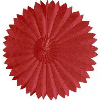 Eventail Déco Rouge (25 cm)