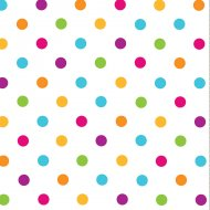 16 Serviettes Happy Dots