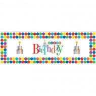 Affiche murale Happy Birthday