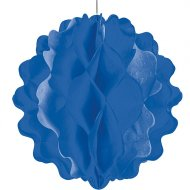 Boule Papier Bleu Mini