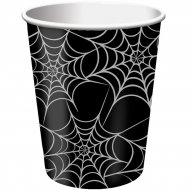 8 Gobelets Toiles d'araignées
