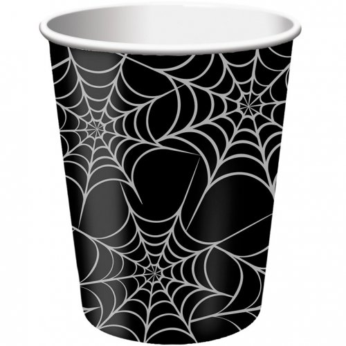 8 Gobelets Toiles d araignées