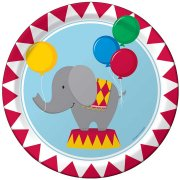 8 Petites Assiettes Sweet Circus