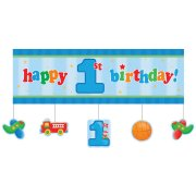 Affiche Happy Birthday 1 an Camion