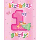8 Invitations 1 an F�e
