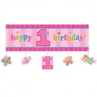 Affiche Happy Birthday 1 an F�e