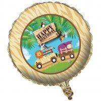 Contient : 1 x Ballon Mylar Safari Aventure